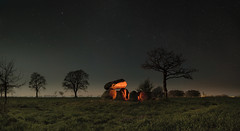 Urdolmen Midnight (ReppiX) Tags: astophotography astronomy dolmen urdolmen grossteingrab megalith night sky long prehistoric lightpainting