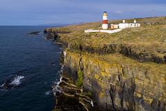 Clyth Ness lighthouse, Caithness (iancowe) Tags: clyth ness clythness lighthouse midclyth stevenson nlb northern board caithness highlands cliff clifftop drone dji phantom 4 pro scotland scottish