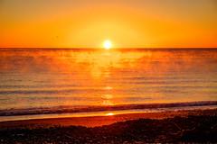 ºº SmOke on the waTer ºº (m+m+t) Tags: dscf56061 mmt meredithbibersteindesign newzealand northisland nature dawn sunrise sea ocean beach coast sky sun fujixt1 fujixseries fujimirrorless 1855mm van campervan vantastic hawkesbay