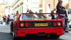 The Queen (Beyond Speed) Tags: ferrari f40 supercar supercars cars car carspotting nikon v12 red spoiler automotive automobili auto automobile classic ferrari70 modena