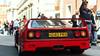 The Queen (Mattia Manzini Photography) Tags: ferrari f40 supercar supercars cars car carspotting nikon v12 red spoiler automotive automobili auto automobile classic ferrari70 modena
