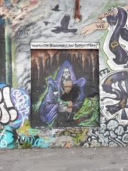 You've found the headquarters, now destroy them! (aestheticsofcrisis) Tags: street art urban intervention streetart urbanart guerillaart graffiti postgraffiti rochester new york ny us usa