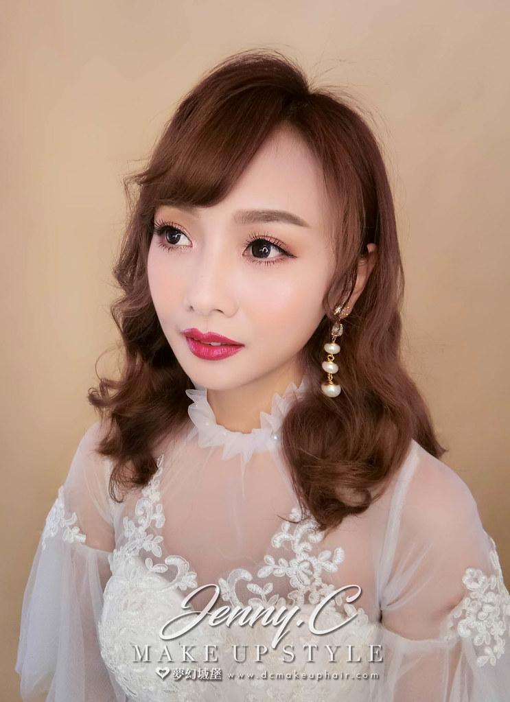 【新秘蓁妮】新娘造型創作 / 氣質唯美風格
