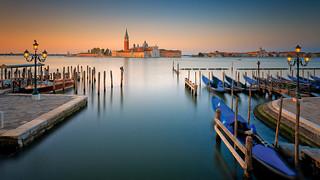 Magic venetian dawn