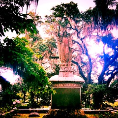 After the rain (hollyelizabethwarren) Tags: georgia savannah cemetery bonaventure