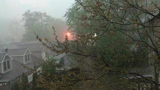 Rain and hail in #SheltonCT. #ctweather #ctwx #rain #hail #video #movie