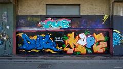 IMGP9759 Street Art (Claudio e Lucia Images around the world) Tags: murales graffiti streetart milano vialemonza ferrovia via pontano milanese pentax pentaxk3ii sigma sigma1020 pittura face faccia murale art viapadova padova persone muro
