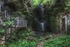Geländerfall (JOP-76) Tags: wasserfall geländer grün plitschplatsch vergessen lost urbex exploration abandoned