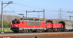 DB Schenker 1614 Schiedam en 6433 Harm (rommelbouwer) Tags: dbschenker 1614 schiedam 6433 harm