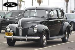1940 Ford Standard Tudor (Pat Durkin OC) Tags: 1940ford standard 2door sedan black