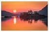 Norfolk Island Sunrise, Ullswater (muddybootsuk) Tags: ullswater sunrise norfolkisland dawn reflections water early morning lakedistrict red redskies orange sun muddybootsuk nikon d810 nikkor2835mm north northern england greatbritain unitedkingdom pooleybridge cumbria