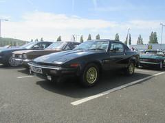 Triumph TR7 EHU649W (Andrew 2.8i) Tags: cardiff classic car show cars classics classicsincardiff wdge british sports sportscar bl britishleyland tr tr7 triumph