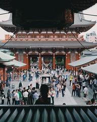 sensoji (31lucass shots) Tags: japanesestyle primelens sonyimages snapshots vintagelens minolta50mm sonya7 snapshot japantokyo japanese travel temple tokyo japan sensoji