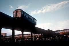 CTA Stockyards 2111 Jeffrey Wein dupe (jsmatlak) Tags: chicago cta l elevated train electric railway subway metro stockyards