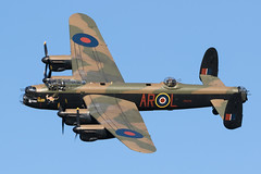 Lancaster PA474 at Old Warden (Peter Starling) Tags: oldwarden peterstarling shuttleworth airshow evening bbmf battle britain memorial flight lanc lancaster arl leader lincoln avro bomber