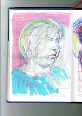 SIRENA (GARGABLE) Tags: angelbeltrán apuntes drawings dibujos gargable