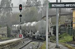 BIOETANOL A CORUÑA-TEIXEIRO (Andreu Anguera) Tags: tren mercancias renfe bioetanol acoruñateixeiro betanzosinfesta acoruña galicia andreuanguera