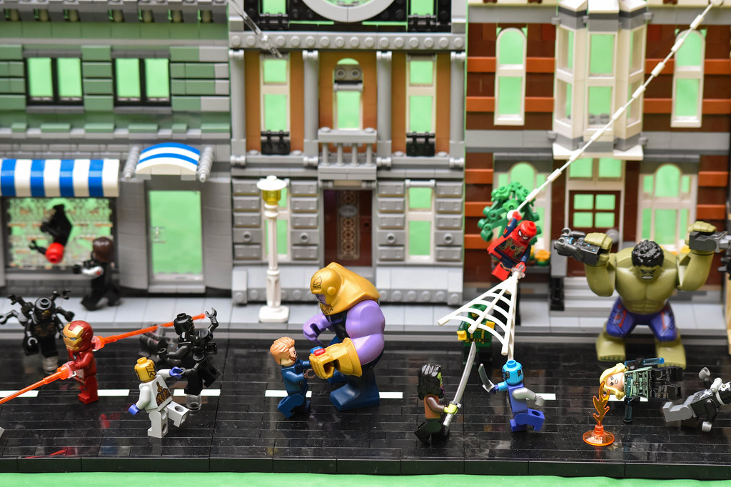 Lego Marvel Moc: The World's Best Photos Of Lego And Thor