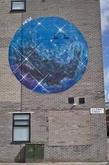 By Cheba (f22photographie) Tags: streetart streetscene urbanart urban wall brickwork colourful globe cheba liverpoolcitycentre gildartstreetliverpool contrastmuralfestival2018