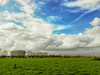 Wolken -7- (Jan 1147) Tags: wolk wolken sky wolkendek wolkenlucht cloud clouds natuur nature gras grass green groen lovendegem belgium