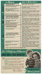 Armour Meal Guide 1940's A (Eudaemonius) Tags: eudaemonius bluemarblebounty recipe recipes armours meal guide meat dinner lunch supper breakfast marie gifford food economist 1940s