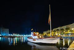 EL APAÑAO (josmanmelilla) Tags: melilla mar nocturna agua puerto barcos pwmelilla flickphotowalk pwdmelilla pwdemelilla
