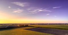 Peaceful evening at the Westfriese Omringdijk near Krabbendam. (Alex-de-Haas) Tags: oogvoornoordholland thuystenuwendore 24mm ci dji dutch eenigenburg fc6310 hdr holland huistenuwendoorn krabbendam nederland nederlands netherlands noordholland phantom phantom4 phantom4pro aerial aerialphotography cirrus cloud clouds drone goldenhour landscape landschap lucht meadows polder skies sky sundown sunset weilanden winter wolk wolken zonsondergang sintmaarten nl