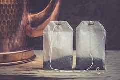 tea for two (auntneecey) Tags: tea teabags tabletop 365the2018edition 3652018 day129365 09may18
