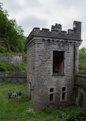 La stazione del re (halte royale de Houyet )