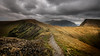 Moody sky over me.. (Einir Wyn Leigh) Tags: landscape mountains walking hiking sky weather light atmosphere path track outside peaks clouds wales uk rural rugged