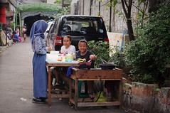 Coming Up (michael.veltman) Tags: jakarta indonesia young women cooking street