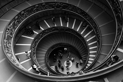 Stairs (Kornelson) Tags: stairs rome italy vatican museum fuji fujinon fujifilm xt1 xf18