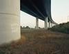 Death To John Danes (danny.rowton) Tags: mediumformat 6x7 graffiti bridge concrete death 120 deathwish grudge deaththreat portra england flyover