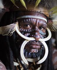 Tribal Chief (wu di 3) Tags: papua indonesia asia tribe dani village chief warrior