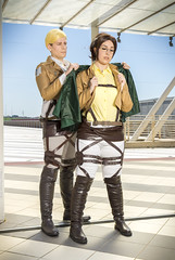 _MG_7177 (Mauro Petrolati) Tags: attack titan shingeki no kyojin romics 2018 cosplay cosplayer beatrice hanji zoe gabriele erwin