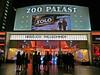 Zoo Palast cinema in Berlin, Germany. May 23, 2018 (Aris Jansons) Tags: billboard night cinema zoopalast building architecture berlin germany deutschland europe 2018 starwars solo film movie