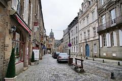 Rue Nationale (Yuri Rapoport) Tags: church saintléonardchurch 2015 fougères illeetvilaine bretagne brittany france