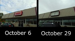 Dunkin' Donuts (Brooklyn, Connecticut) (jjbers) Tags: dunkin donuts closing abandoned old location vacant closed progression former replaced october 6 29 2017 brooklyn east connecticut danielson