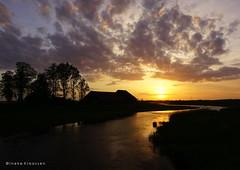 Sunset in Werkendam, the Netherlands (Ineke Klaassen) Tags: werkendam sony sunset sky sonyilce6000 sonyphotography nederland water dusk river landscape holland sonya6000 brabant sundown clouds 200views 2550fav 25faves 25fav sonyalpha6000 sonyimages sonyalpha landschap gelderland gelderslandschap geldersestreken biesbosch