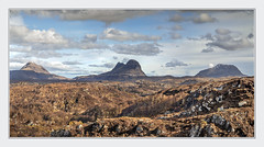 Mountains in Assynt (Katybun of Beverley) Tags: assynt mountains canisp suilven culmór landscape rocks clouds scenery scenic outdoors northwesthighlands northwestscotland highlands