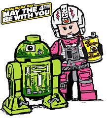 Happy Star Wars day! (Catanas) Tags: speedcat lego greg star wars day may 4th