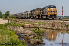 UP 5586 | GE AC44CWCTE | UP Jonesboro Subdivision (M.J. Scanlon) Tags: 2018 ac44cwcte arkansas business canon capture cargo color commerce digital eos engine fairoaks freight ge haul horsepower image impression landscape locomotive logistics mjscanlon mjscanlonphotography mbumhs may merchandise mojo move mover moving outdoor outdoors perspective photo photograph photographer photography picture power rail railfan railfanning railroad railroader railway real scanlon sky steelwheels super track train trains transport transportation tree up up5586 upjonesborosub upjonesborosubdivision unionpacific unittrain view wow ©mjscanlon ©mjscanlonphotography