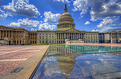 US Capitol Building reflection (cmfgu) Tags: washingtondc dc districtofcolumbia capital usa us unitedstatesofamerica american capitol building dome reflection capitolhill