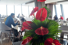 Splash of colour (Roving I) Tags: flowers decoration restaurants dining breakfast views architecture design botonblue hospitality hotels tourism travel nhatrang vietnam