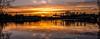 Evening reflection (Peter Leigh50) Tags: canal grand union cranes locks lock kibworth wistow sunset sky water wet reflection fujifilm fuji xt2