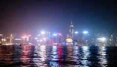 Skylights (mathias2784) Tags: lichter night water architektur 1802hklkwsin landschaft lights urlaub wasser hongkong stadt city meer skyline nacht sea gebäude