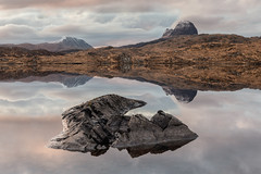 Three of a Perfect Pair (Andrew G Robertson) Tags: suilven canisp loch