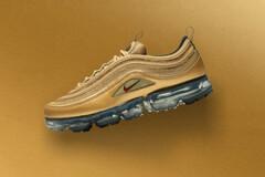 "Release Date: Nike Air VaporMax 97 ""Metallic Gold"" (eukicks.com) Tags: nike kicks new sneaker releases air vapormax 97 sportswear"