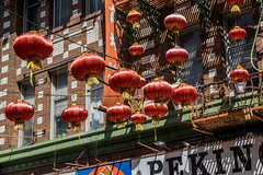 Chinese Lanterns (benakersphoto) Tags: sanfrancisco california sanfran chinatown nikon nikkor city sign architecture building downtown design outdoors outdoor outside colorful colors colourful colours