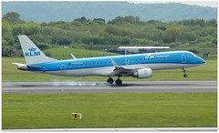 (Riik@mctr) Tags: manchester airport egcc phezl grass airplane forest landscape tree sky aircraft runway airfield ringway klm cityhopper embraer 190195 msn 334
